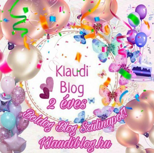 Klaudiblog 2 éves